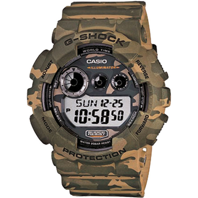 Ceas barbatesc Casio G-Shock GD-120CM-5ER de mana original