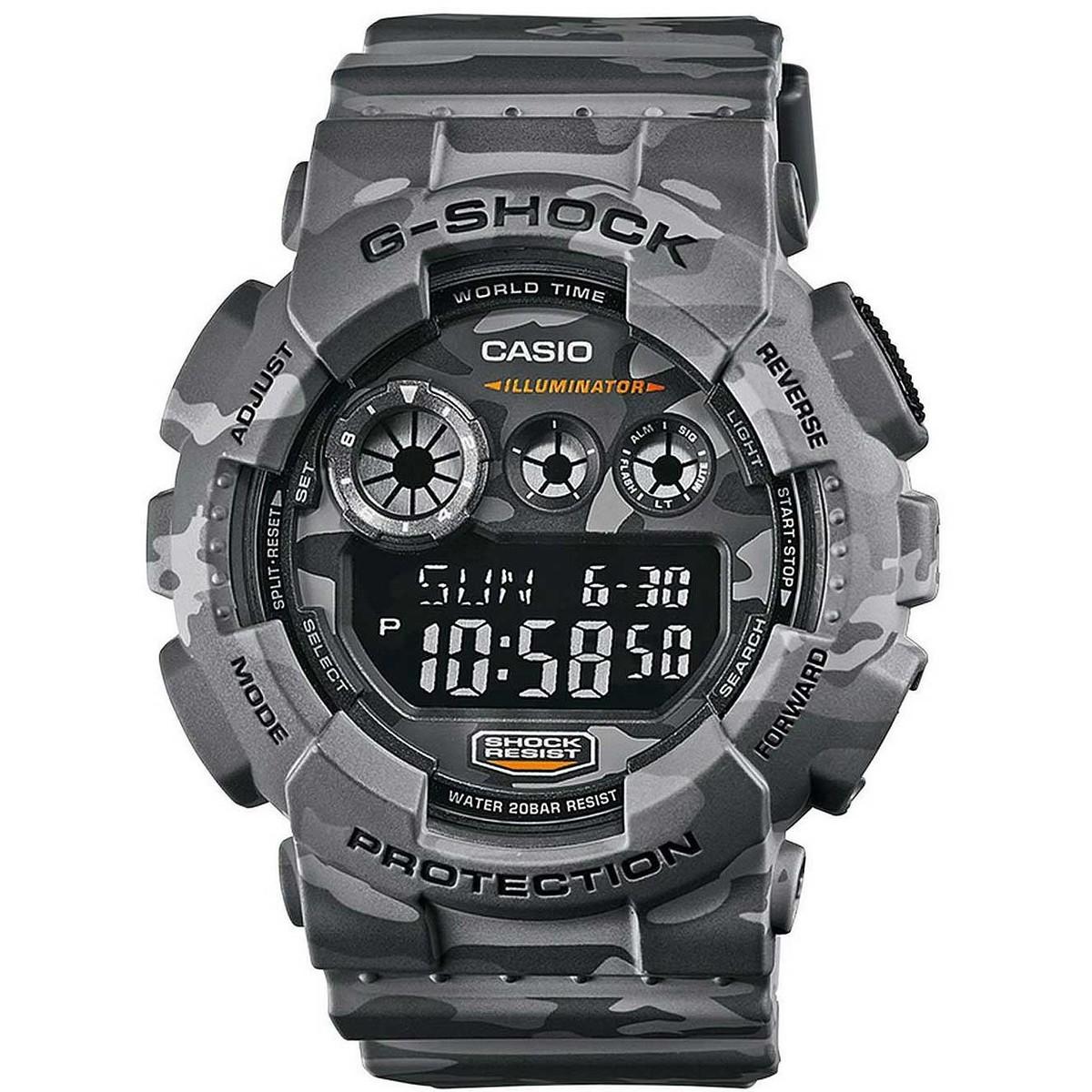 Ceas barbatesc Casio G-Shock GD-120CM-8ER de mana original