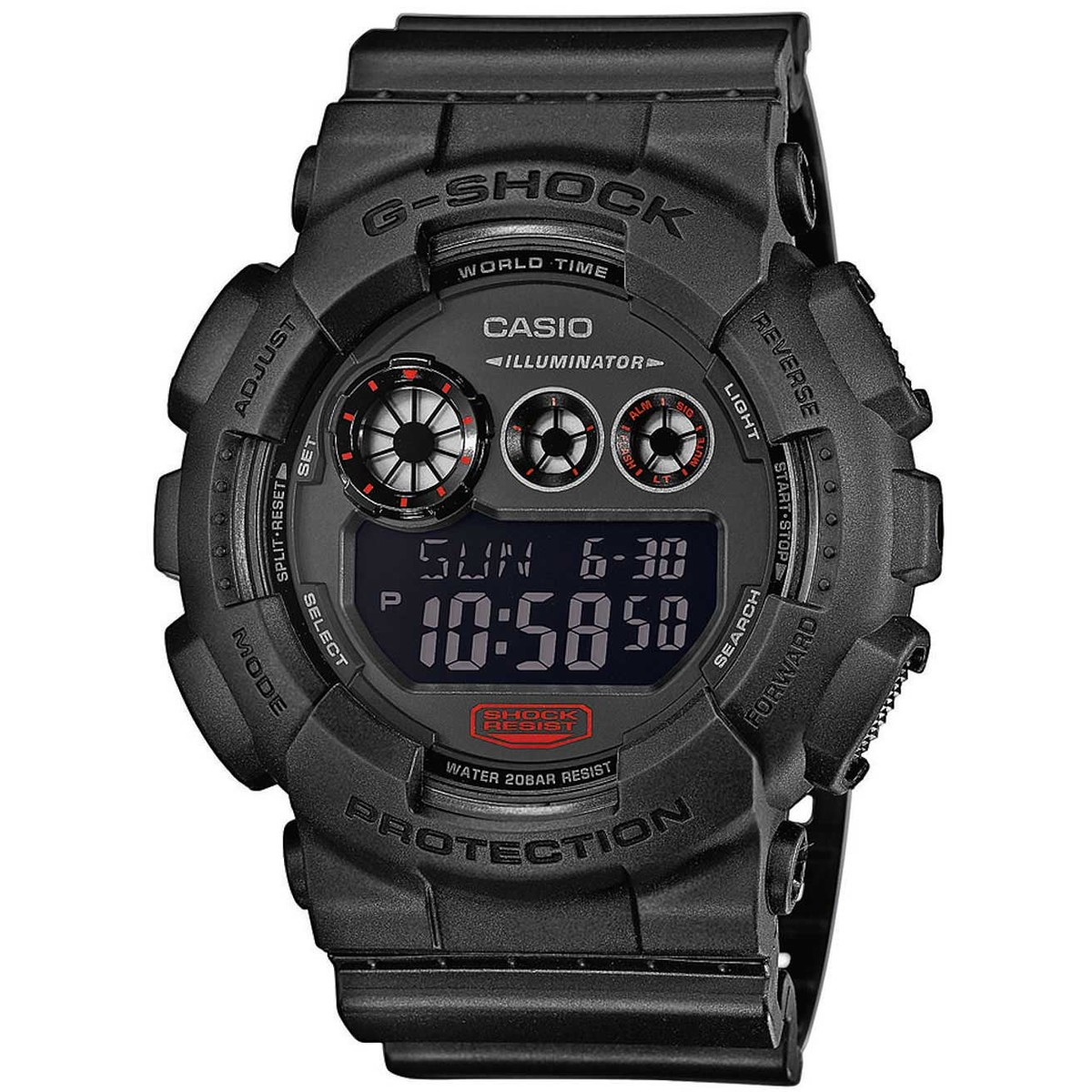 Ceas barbatesc Casio G-Shock GD-120MB-1ER de mana original