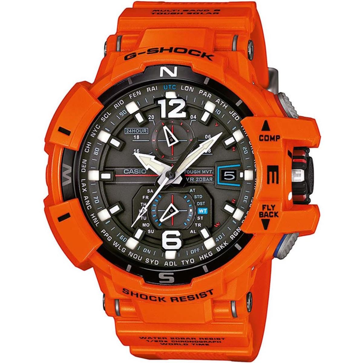 Ceas barbatesc Casio G-Shock GW-A1100R-4AER de mana original