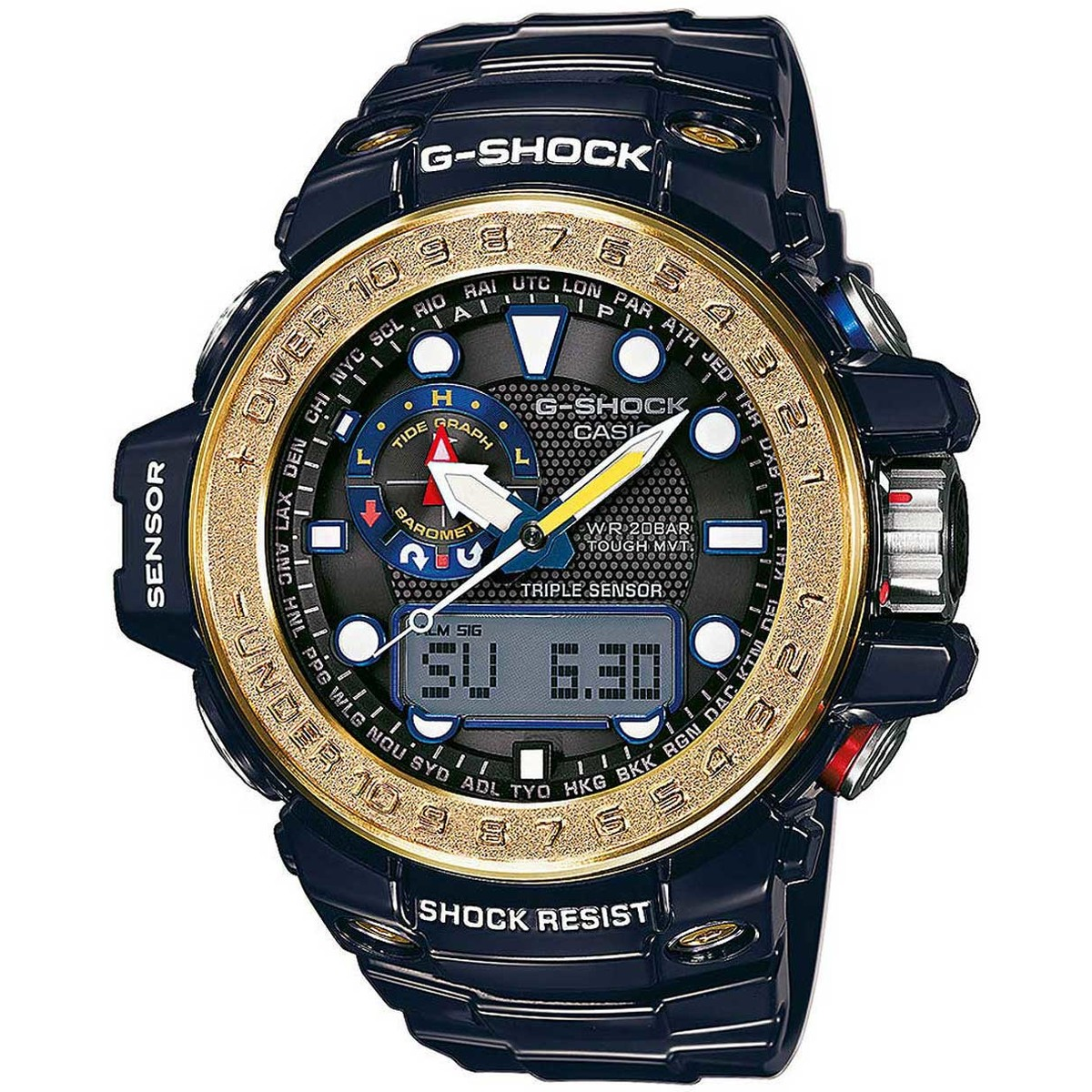 Ceas barbatesc Casio G-Shock GWN-1000F-2AER de mana original