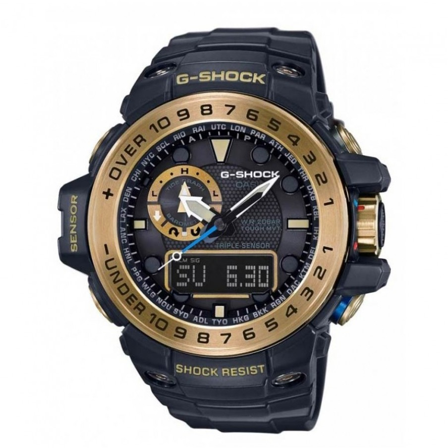 Ceas barbatesc Casio G-Shock GWN-1000GB-1AER de mana original
