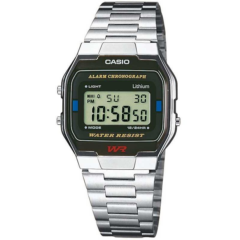 Ceas barbatesc Casio Retro A163WA-1QES de mana original