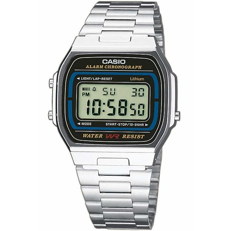 Ceas barbatesc Casio Retro A164WA-1VES de mana original
