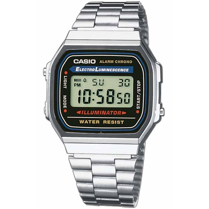Ceas barbatesc Casio Retro A168WA-1YES de mana original