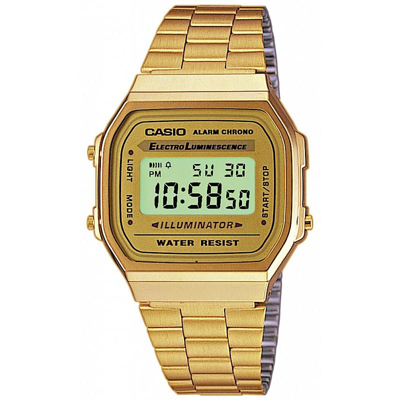 Ceas barbatesc Casio Retro A168WG-9EF de mana original