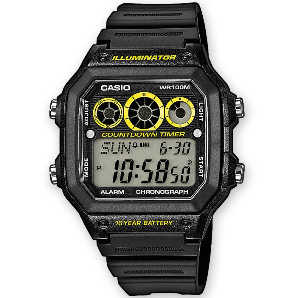 Ceas barbatesc Casio Sport AE-1300WH-1AVEF de mana original