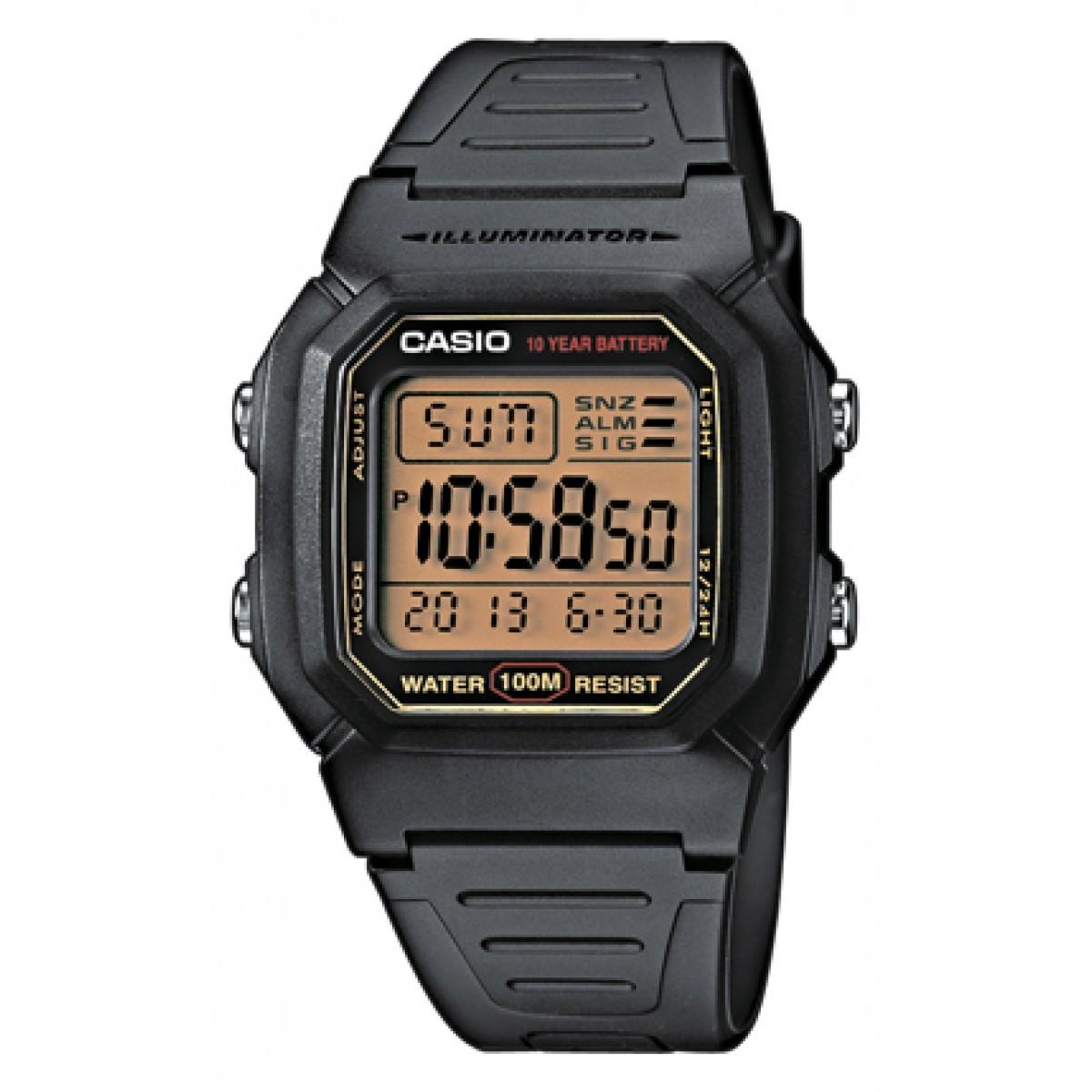 Ceas barbatesc Casio Sport W-800HG-9AVES de mana original