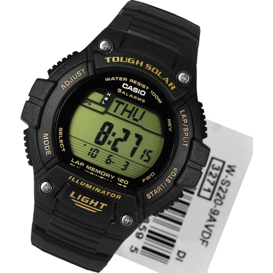Ceas barbatesc Casio Tough Solar W-S220-9AV de mana original
