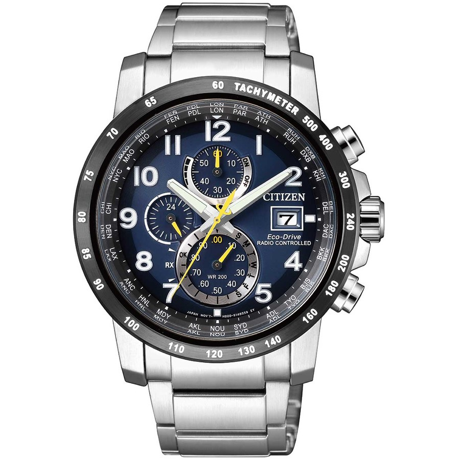 Ceas barbatesc Citizen Eco Drive AT8124-91L de mana original