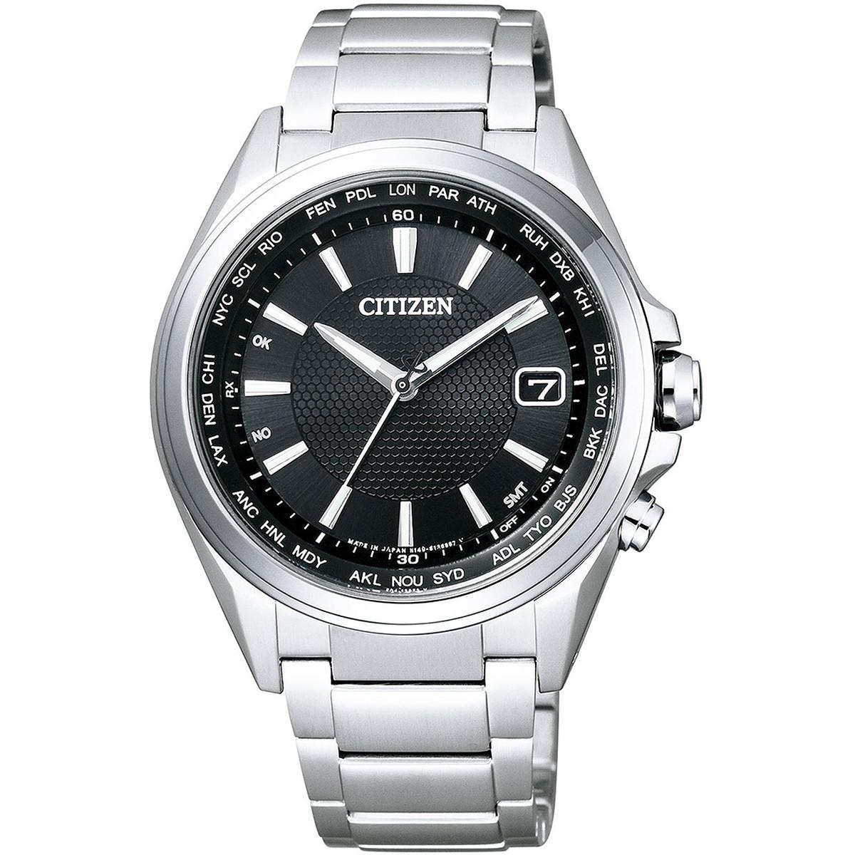 Ceas barbatesc Citizen Eco Drive-CB1070-56E Titanium de mana original