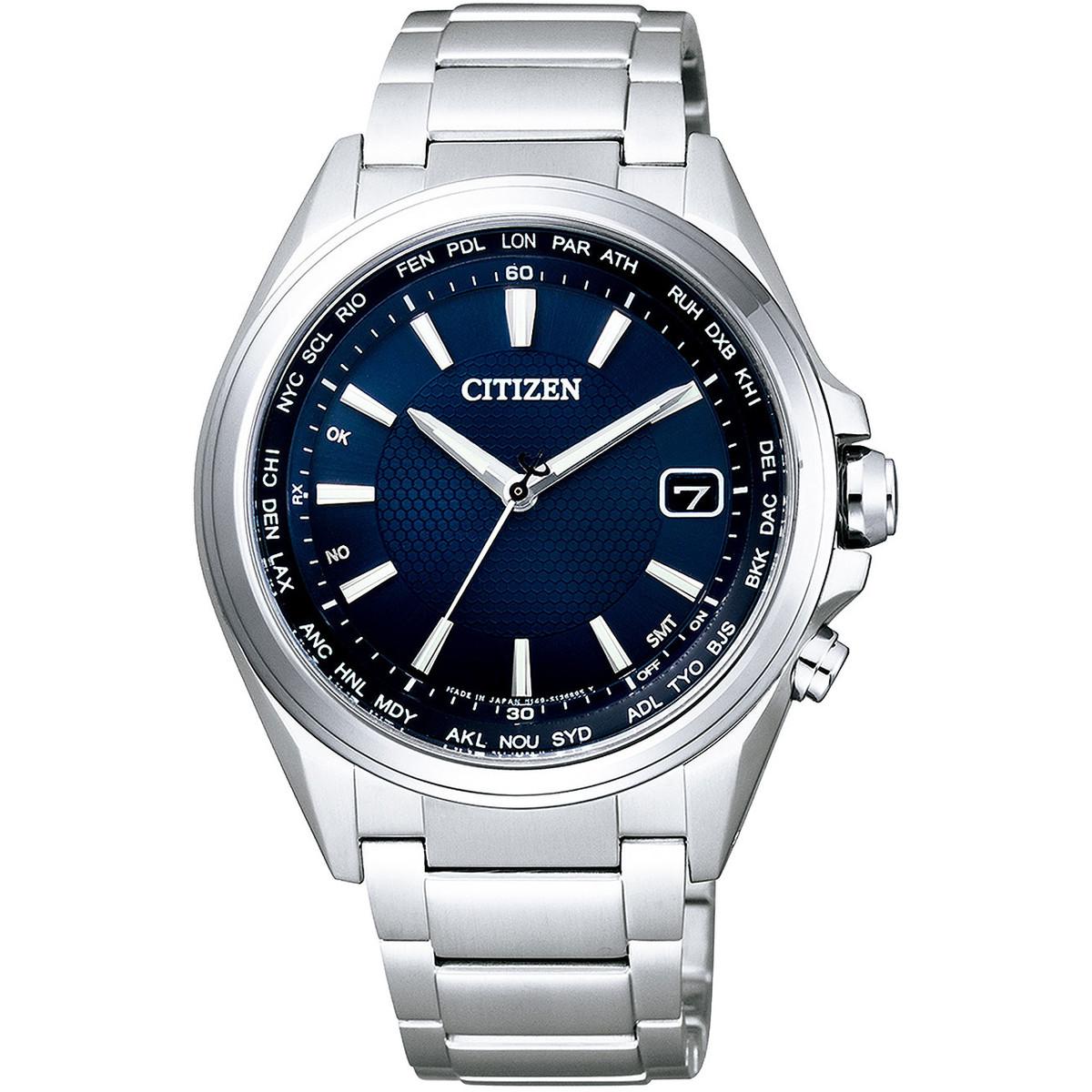 Ceas barbatesc Citizen Eco Drive-CB1070-56L Titanium de mana original