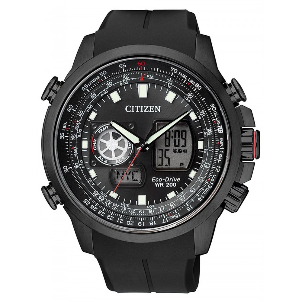 Ceas barbatesc Citizen Eco-Drive Promaster Sky GMT JZ1065-05E de mana original