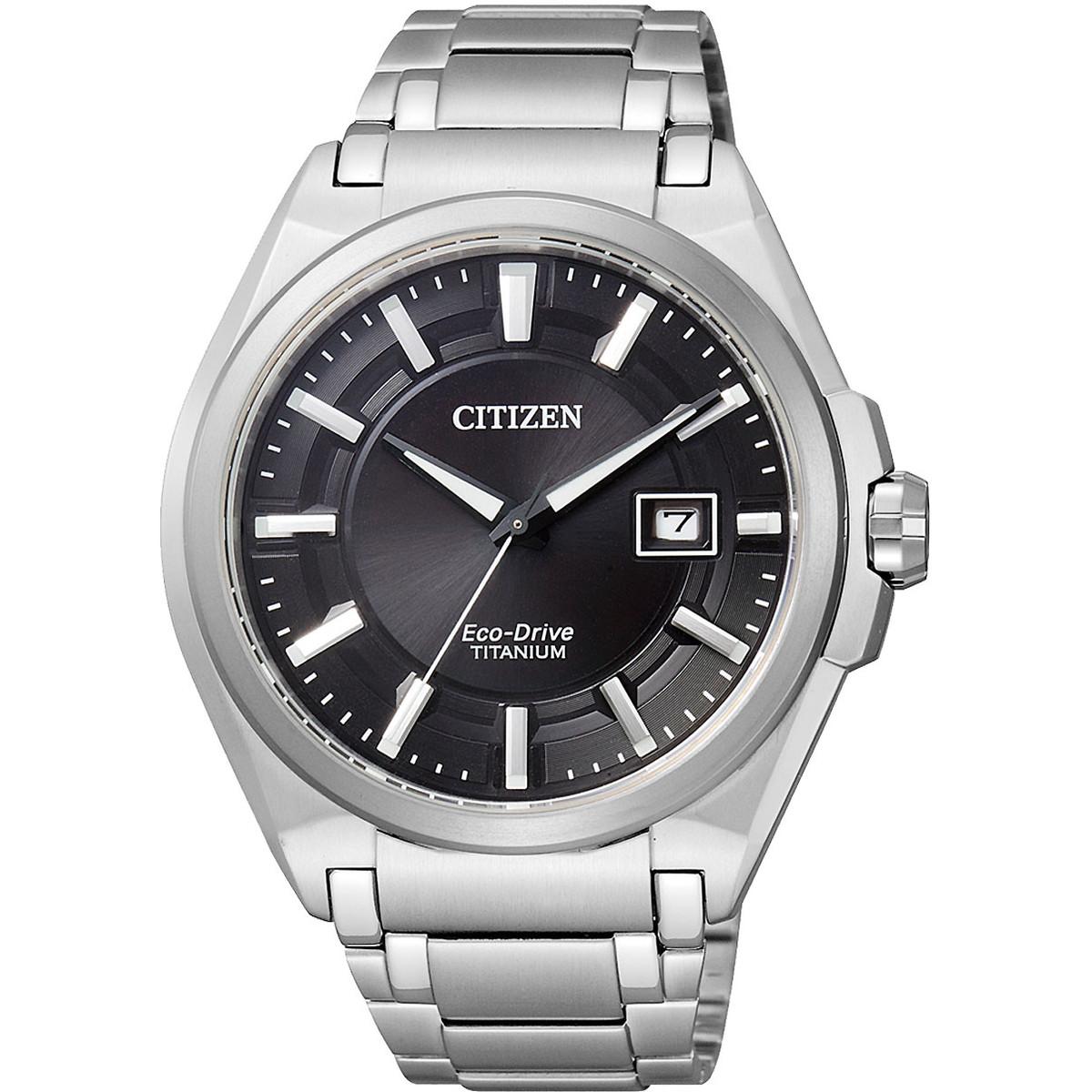 Ceas barbatesc Citizen Eco-Drive Titanium BM6930-57E de mana original