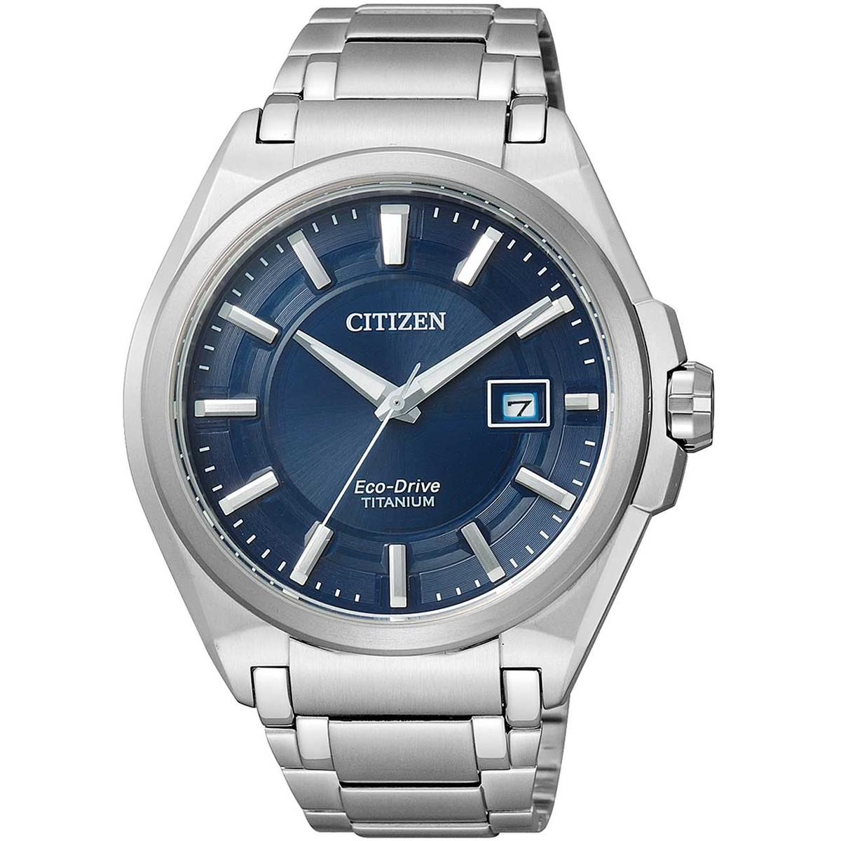 Ceas barbatesc Citizen Eco-Drive Titanium BM6930-57M de mana original
