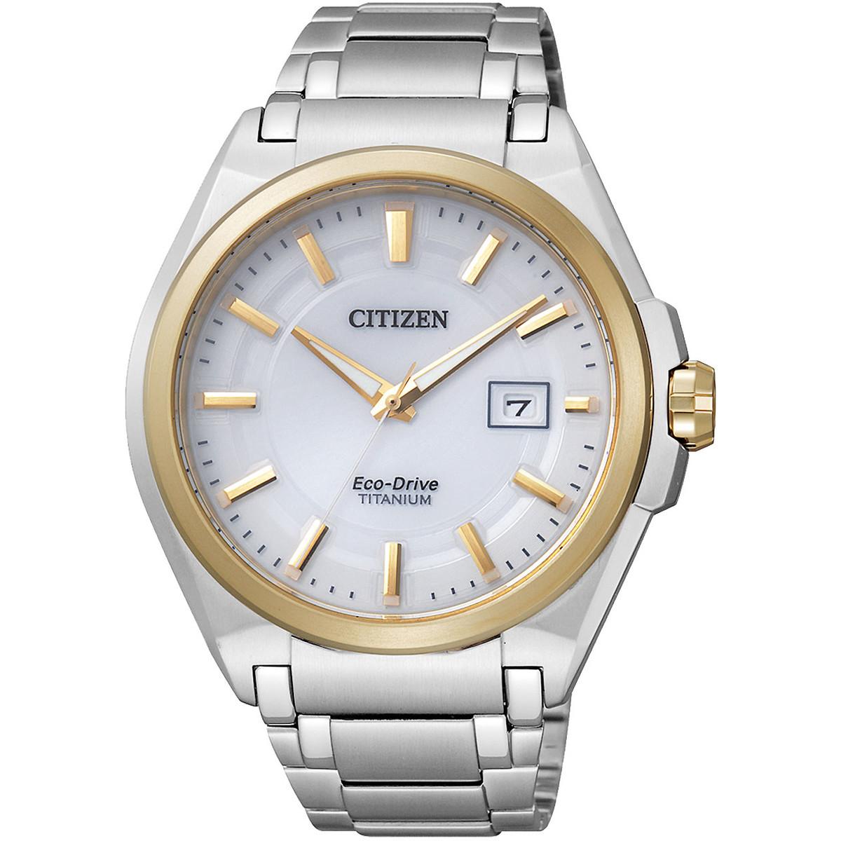 Ceas barbatesc Citizen Eco-Drive Titanium BM6935-53A de mana original
