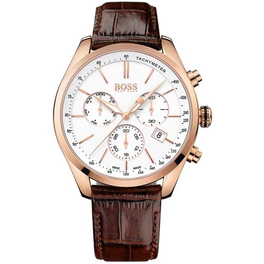 Ceas barbatesc HugoBoss Chronograph 1513396 de mana original