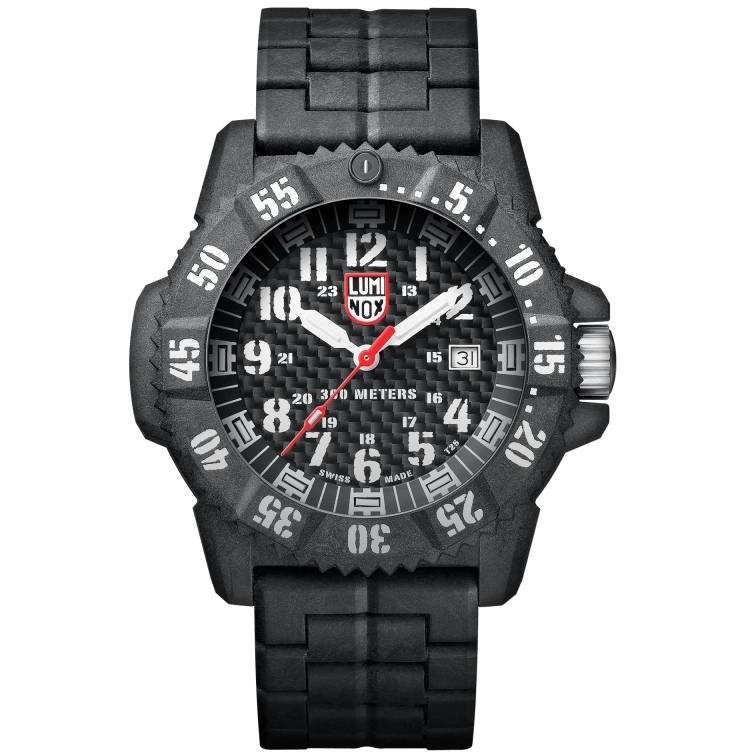 Ceas barbatesc Luminox Carbon Seal 3800 XS.3802 de mana original