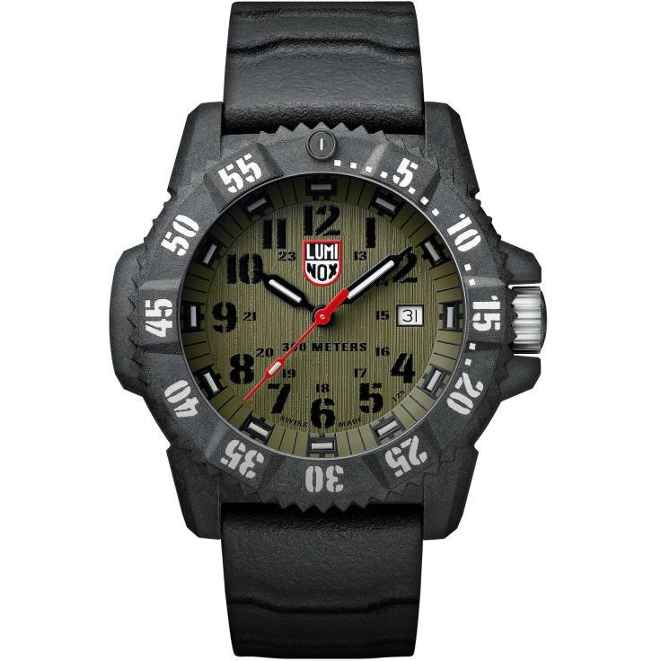 Ceas barbatesc Luminox Carbon Seal 3800 XS.3813 de mana original