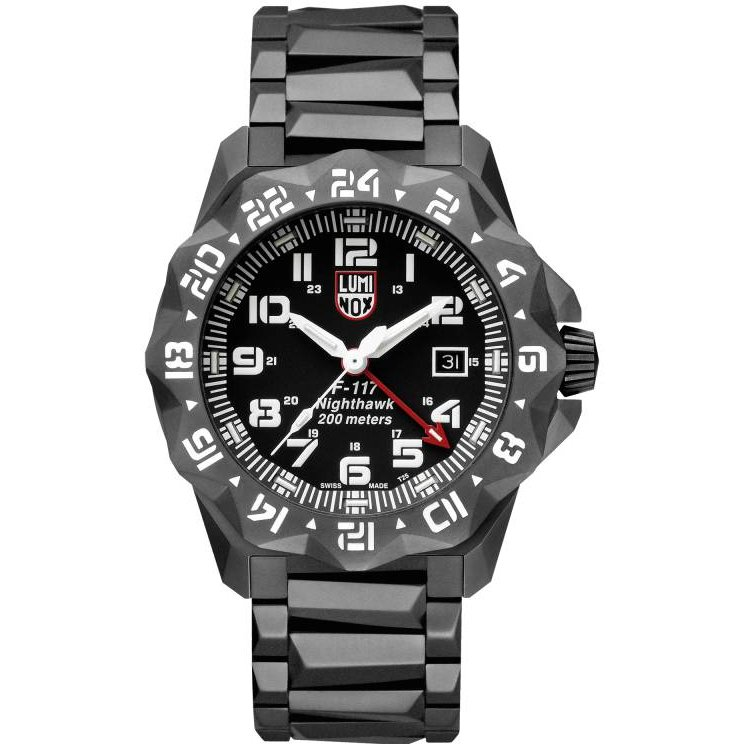 Ceas barbatesc Luminox Nighthawk 6400 XA.6422 de mana original
