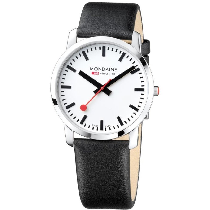Ceas barbatesc Mondaine Simply Elegant A638.30350.11SBB de mana original