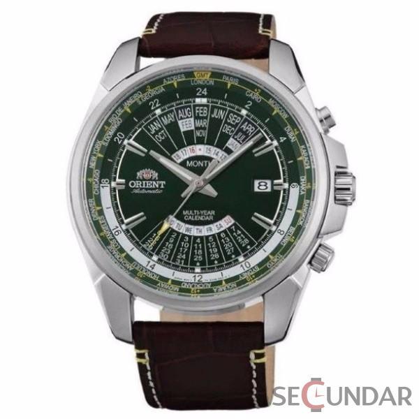 Ceas barbatesc Orient FEU0B003FH Automatic Multi-Year Calendar Barbatesc de Mana Original