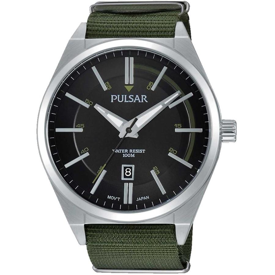 Ceas barbatesc Pulsar PS9357X1 de mana original