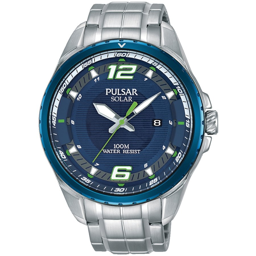 Ceas barbatesc Pulsar Solar PX3125X1 de mana original