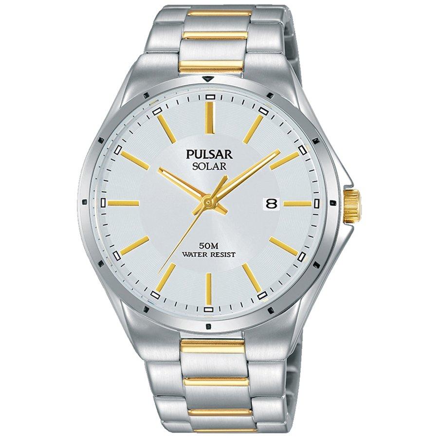 Ceas barbatesc Pulsar Solar PX3141X1 de mana original