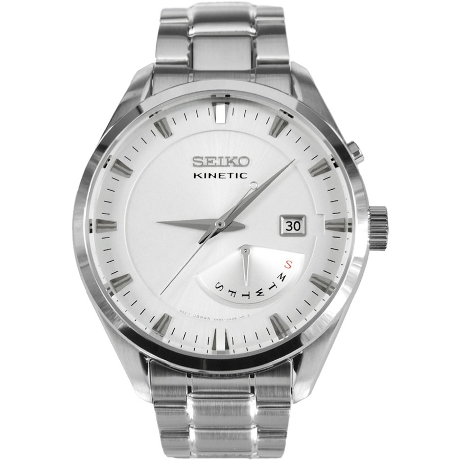 Ceas barbatesc Seiko Kinetic SRN043P1 de mana original