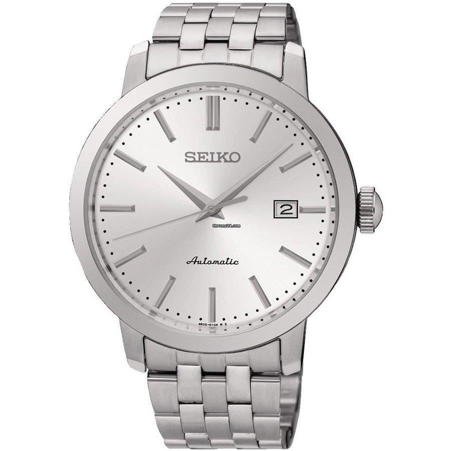Ceas barbatesc Seiko Neo Classic SRPA23K1 de mana original