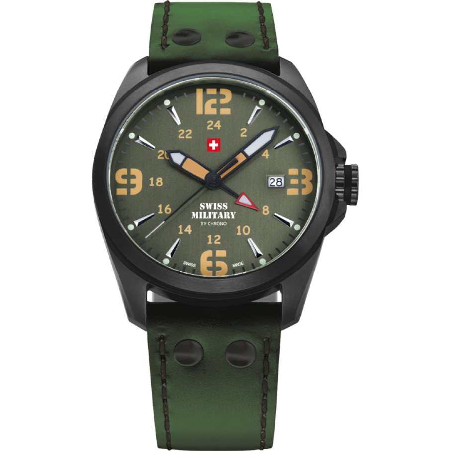 Ceas barbatesc Swiss Military by Chrono SM34034.09 de mana original
