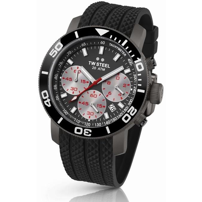 Ceas barbatesc TW-Steel Grandeur Diver TW704 Cronograph de mana original