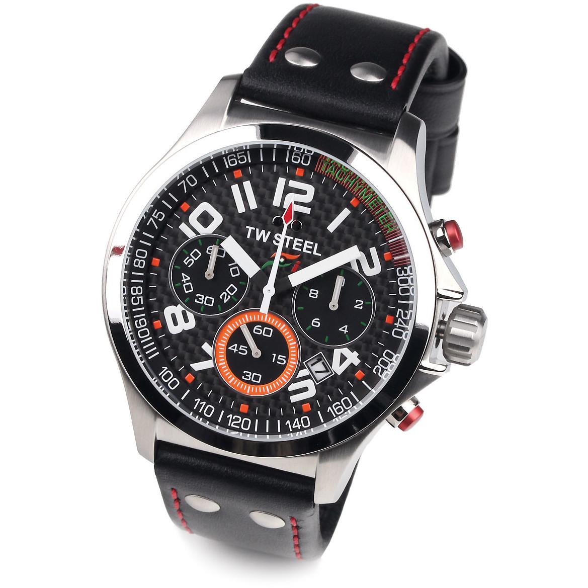 Ceas barbatesc TW-Steel TW432 Pilot Chronograph de mana original