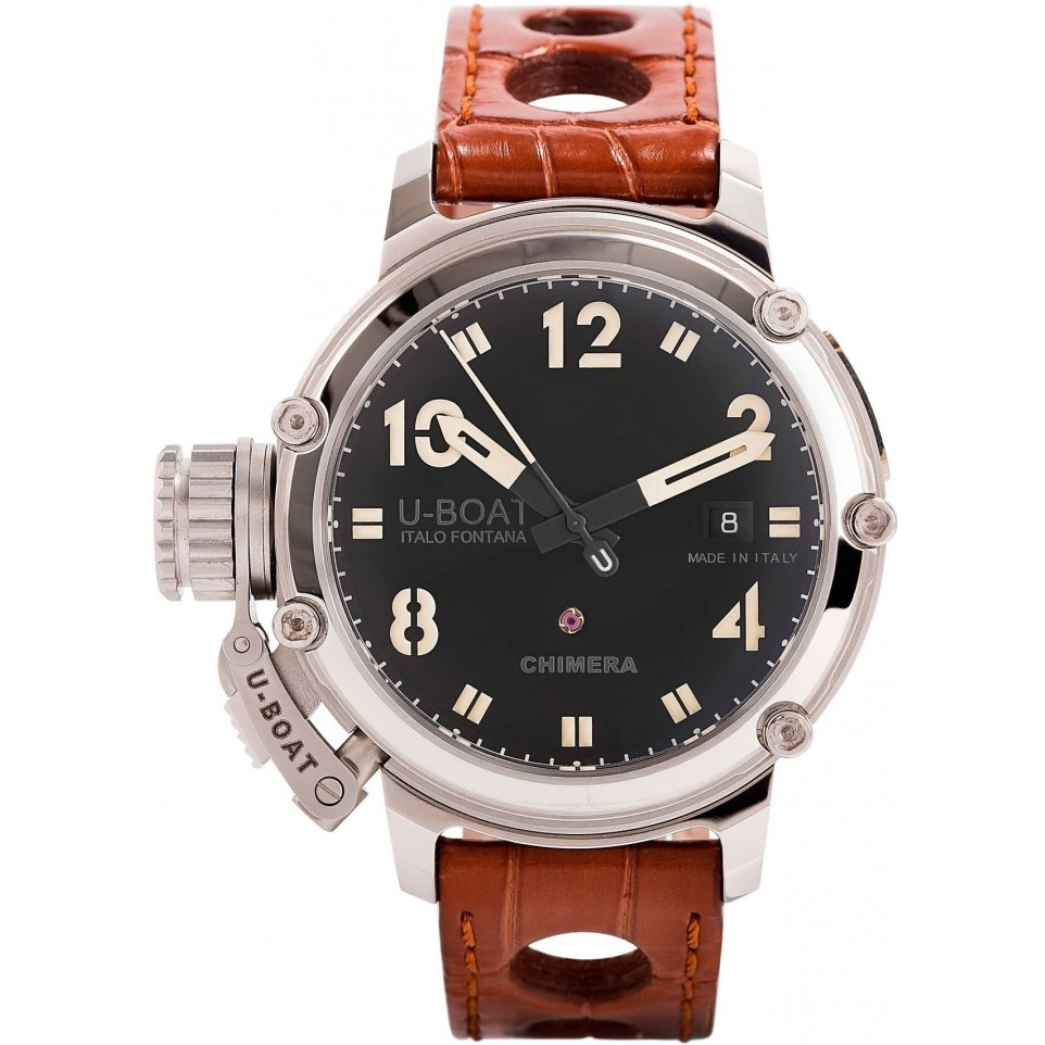 Ceas barbatesc U-Boat Chimera Steel 7226 de mana original