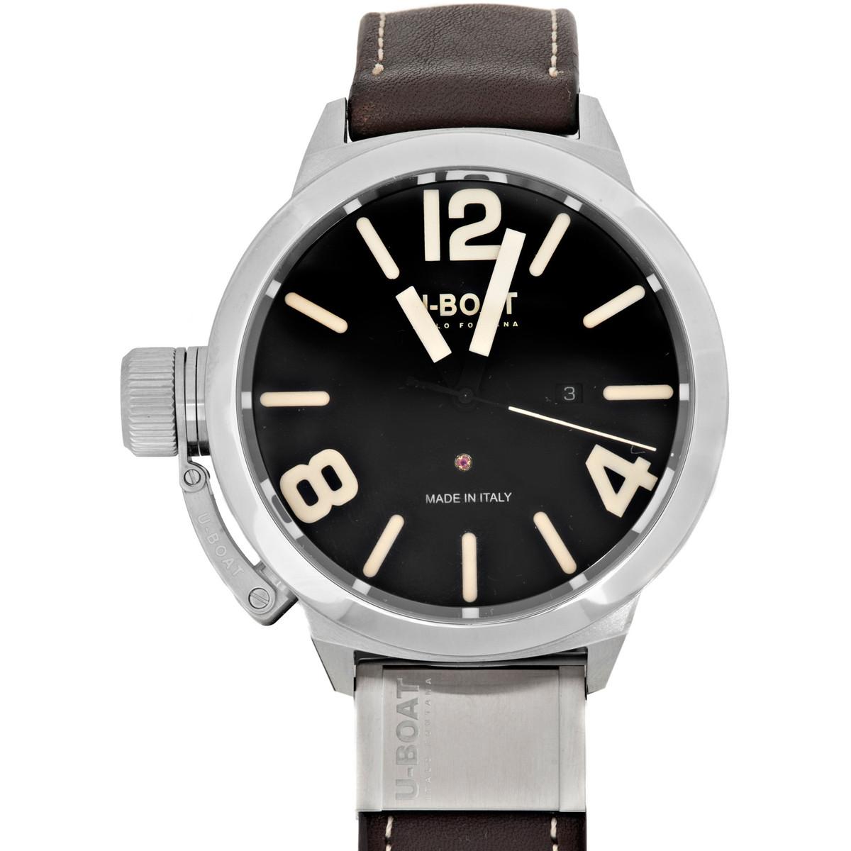Ceas barbatesc U-Boat Classico 7120 de mana original