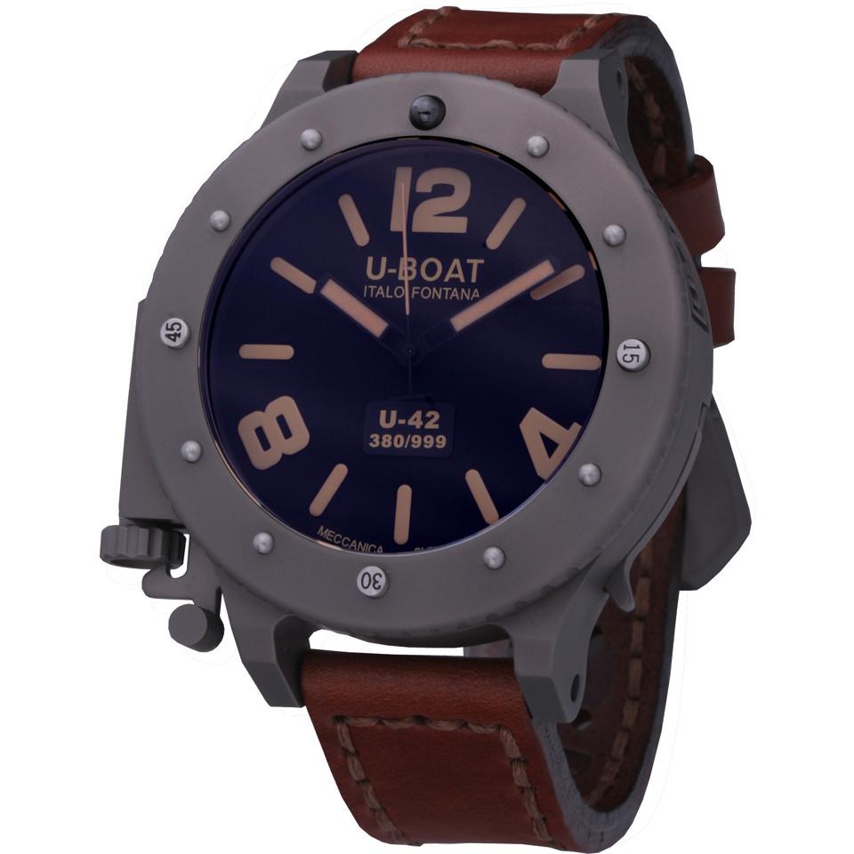Ceas barbatesc U-Boat U-42 6157 Automatic de mana original